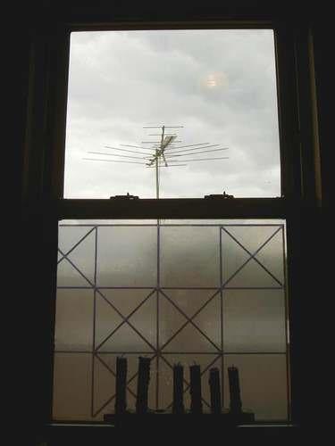 Light passes through transparent objects