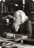 Portrait of Dmitri Mendeleev