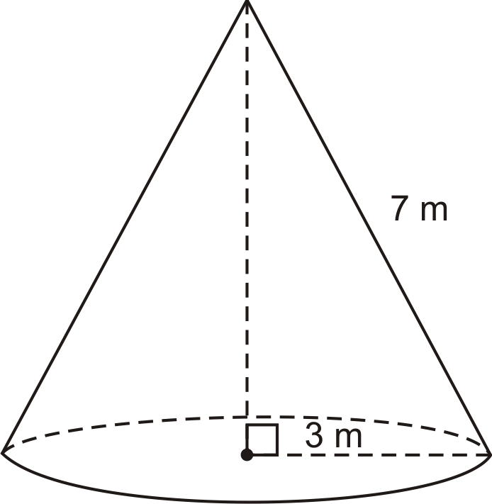 Surface Area and Volume of a Cone – Volume of Cone Worksheet