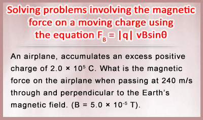 Magnetic Forces on Moving Charges - Example 1