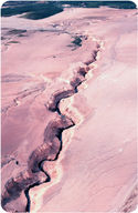 Water erosion in Alaska's Valley of Ten Thousand Smokes