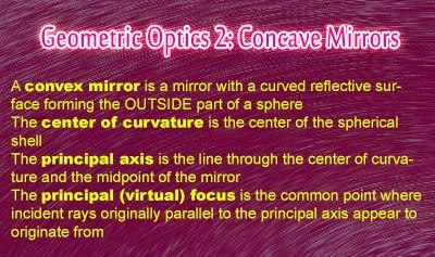 Geometric Optics 3: Convex Mirrors - Overview