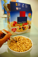 Observation of a box of cereal