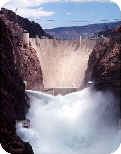 Hoover Dam generates 4 billion kilowatt hours of electricity