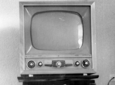 A television that was manufactured in 1953.
