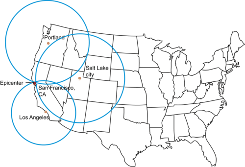 Locating Earthquake Epicenters ( Read ) | Earth Science | CK ...