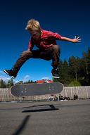Heavier skater