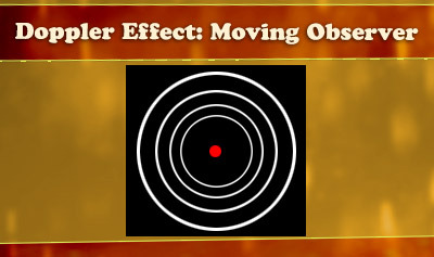 Doppler Effect: Moving Observer