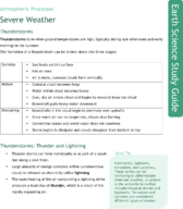 Severe Weather Study Guide