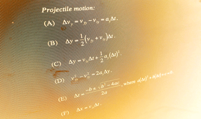 Projectile Motion Problem Solving Discussion Questions