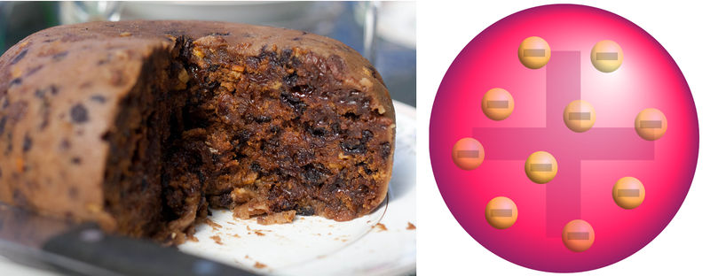 Plum pudding and Thomson's plum pudding model