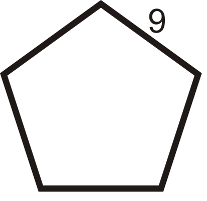 how to find the perimeter of a regular pentagon