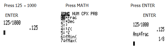 Convert Between Fractions Or Mixed Numbers And Decimals