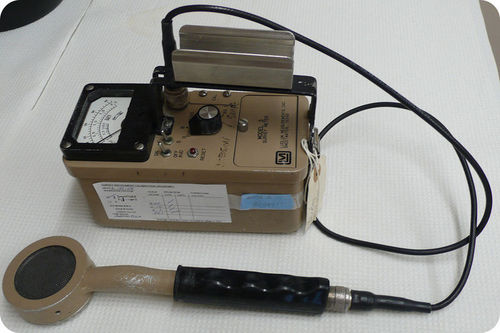this Geiger counter detects radiation
