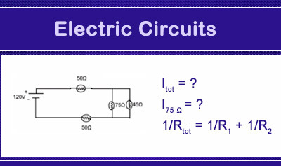 Electric Circuits: Resistors in Series and Parallel