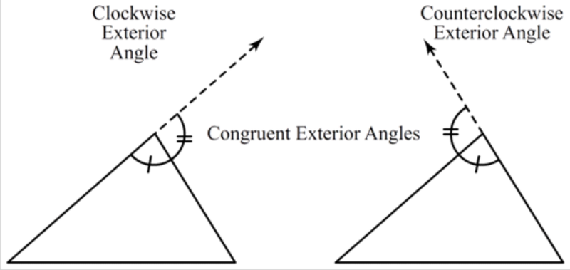 Triangle sum and exterior angle theorems ck 12 foundation - How to do exterior angle theorem ...