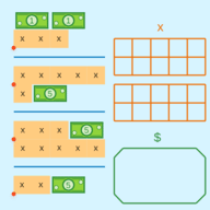 Multi-Step Equations with Like Terms: Shipments