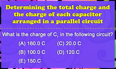 RC Circuits 2: Capacitors in Parallel - Example 2