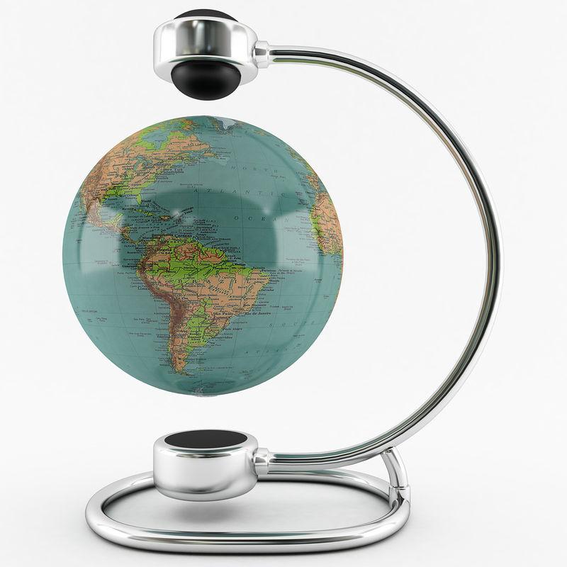 World Spins Magnet