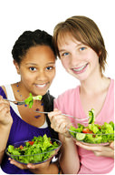 Leafy green vegetables are an excellent choice for staying healthy