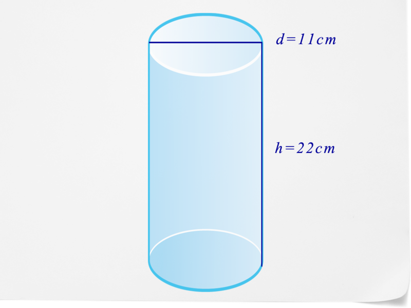 how to get diameter of a cylinder