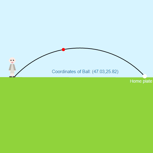 Derive and Use the Pythagorean Theorem: Baseball Throw