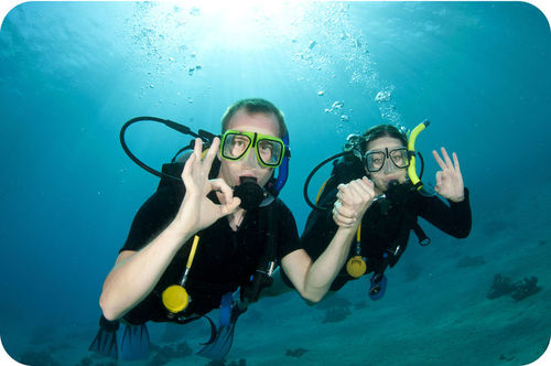 Scuba divers need to return to the surface slowly