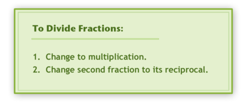 Quotients of Fractions (C-2)