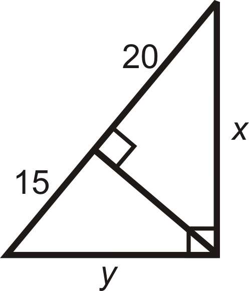 Using Similar Right Triangles Ck 12 Foundation