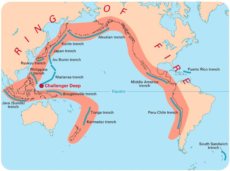 Chapter The Ocean Bottom Mr Van Arsdale - Oceans around the world