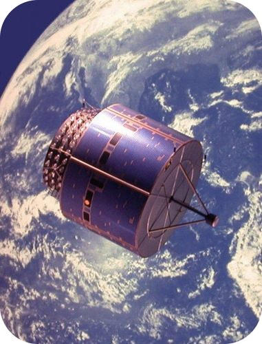 Weather satellite orbiting Earth is an example of circular motion