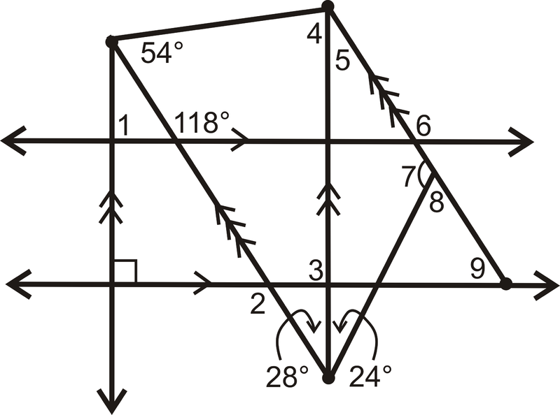 Chapter 3 Review – Parallel Lines and Transversal Worksheet
