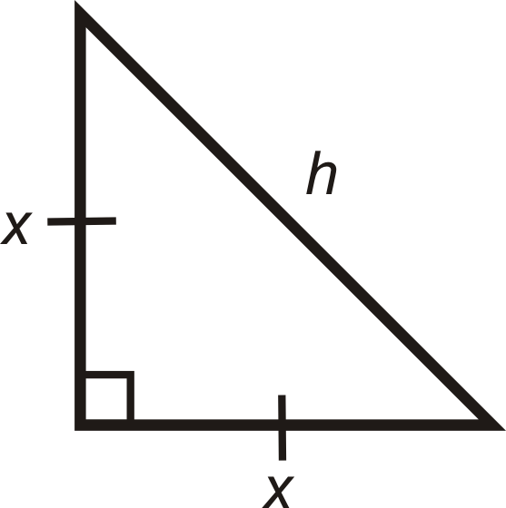 Special Right Triangles Ck 12 Foundation