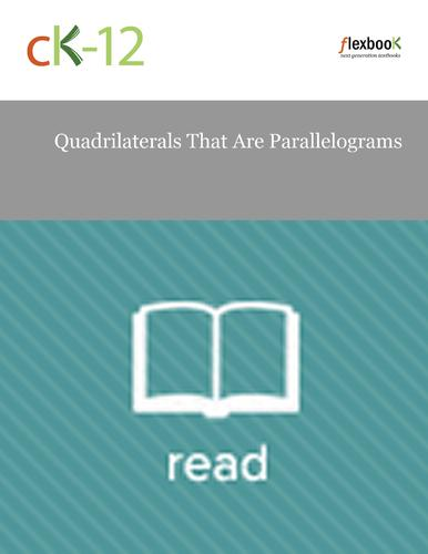 Quadrilaterals That Are Parallelograms