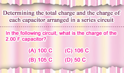 RC Circuits 1: Capacitors in Series - Example 2