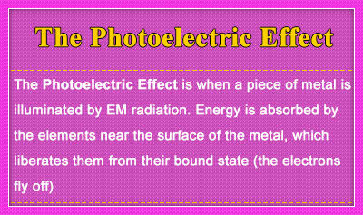The Photoelectric Effect - Overview