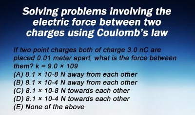 Coulomb's Law - Example 2