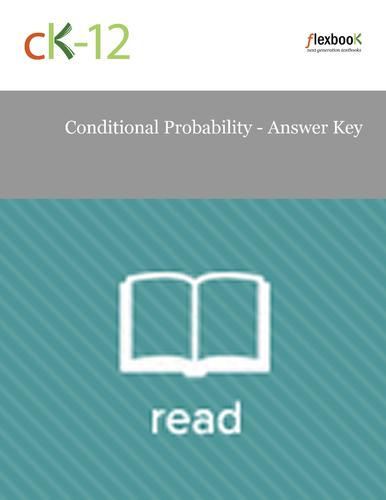 Conditional Probability - Answer Key