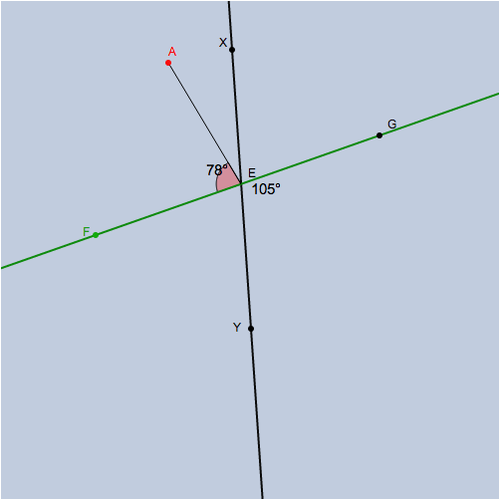 Perpendicular Lines and Angles; Perpendicular Lines