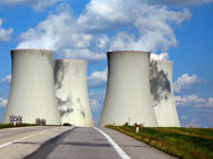 Picture of a nuclear power plant in France