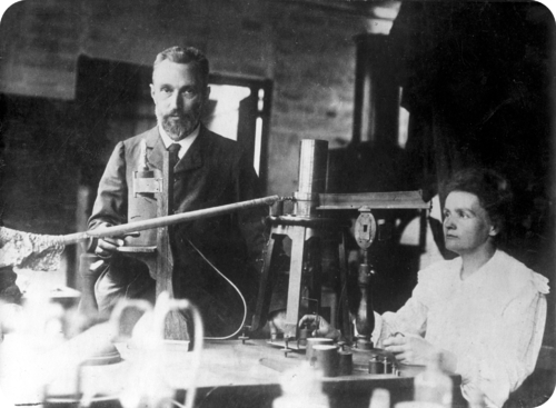 Becquerel's experiment involved uranium exposed to photographic plate
