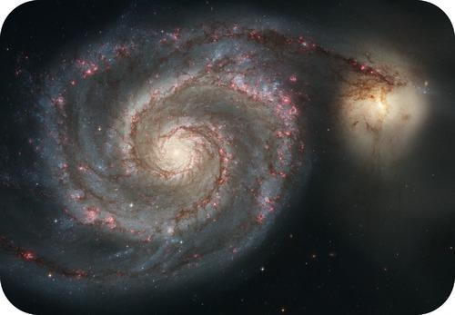 The whirlpool galaxy
