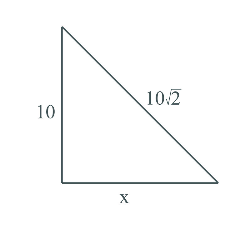 Lengths Of Triangle Sides Using The Pythagorean Theorem Ck 12 Foundation How to use the radical/square root simplifier. lengths of triangle sides using the