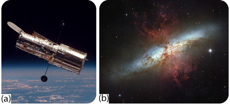 The Hubble Space Telescope and a starburst cluster