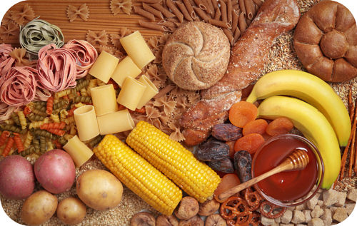 Carbohydrate food sources
