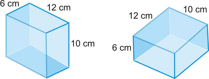 how to find the number of cubes in a prism