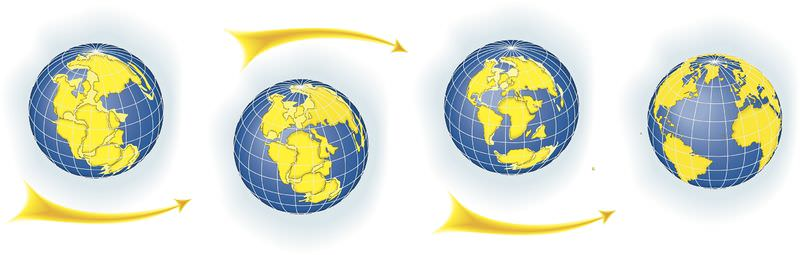 Continental drift from Pangaea to now