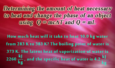 Calorimetry 3: Heat Transfer and Phase Changes - Example 2