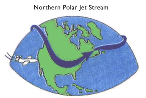 The Northern Polar Jet Stream