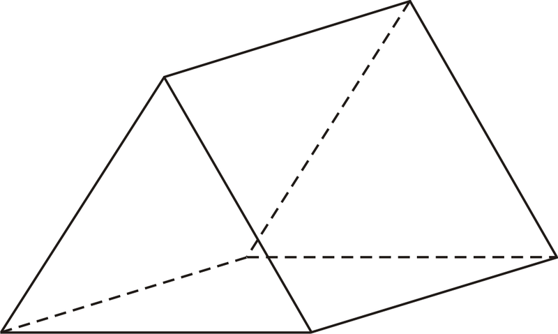 how to find the lateral area of a triangular prism